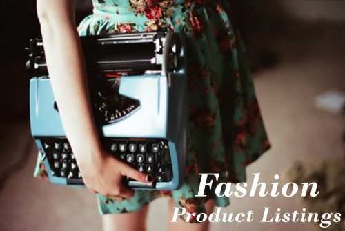 Fashion Product Descriptions