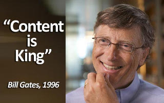 Bill Gates Content is King Quote